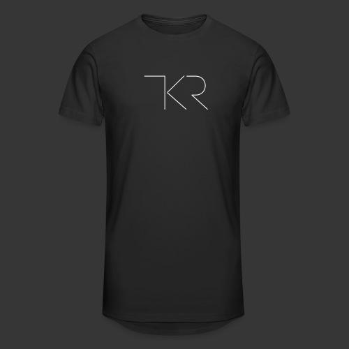 TKR Logo Black - Men's Long Body Urban Tee