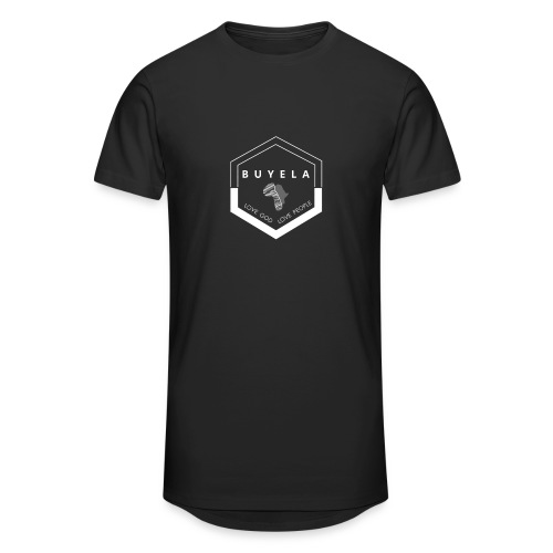 Buyela hexagon - Männer Urban Longshirt