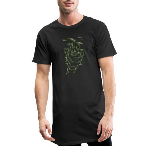EigenHand gruen - Männer Urban Longshirt