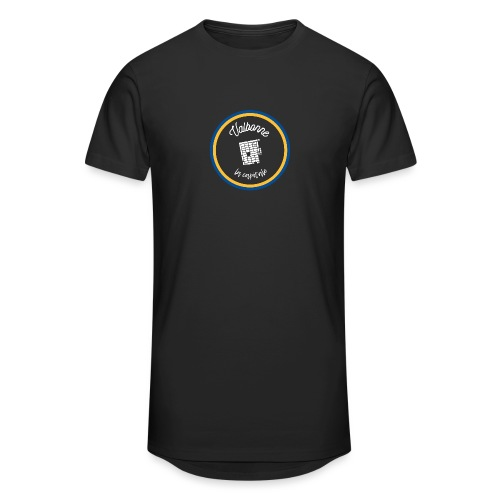 Valbonne la capitale - Le classique Blanc - T-shirt long Homme