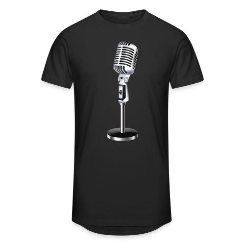 En Mikrofon T-Skjorte - Urban lang T-skjorte for menn