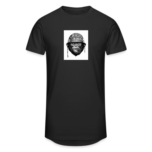 monkey man - Men's Long Body Urban Tee