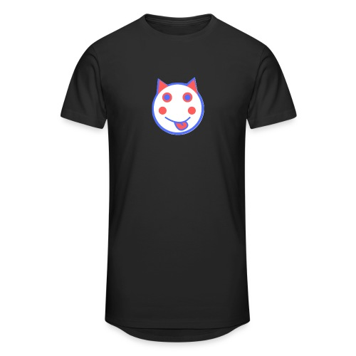 Red White And Blue - Alf Da Cat - Men's Long Body Urban Tee