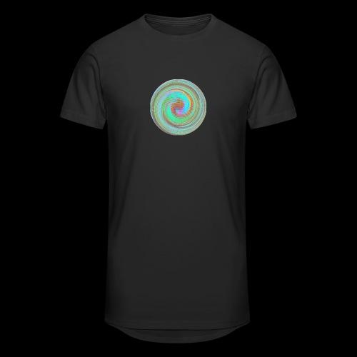 Illusion d'optique - T-shirt long Homme
