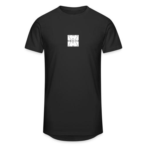 Ben Scho YT box logo - Men's Long Body Urban Tee