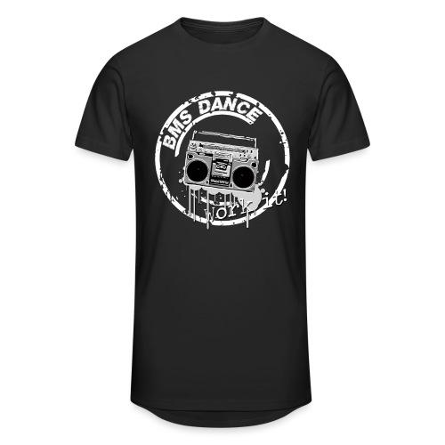 BMS Dance grey - Mannen Urban longshirt