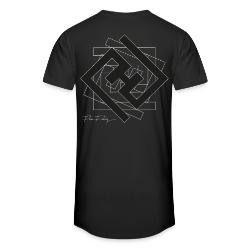 Tee-shirt logo classique avec une torsion - T-shirt long Homme