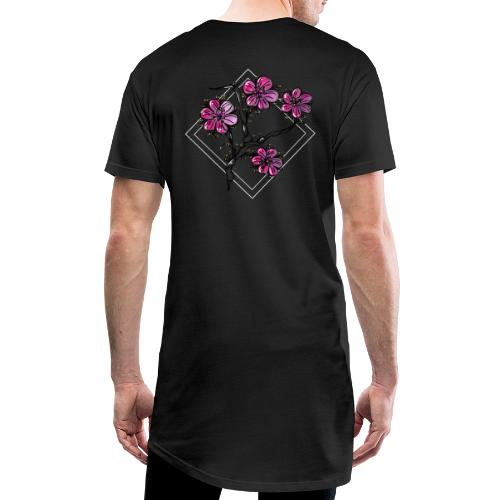 Flower (日本庭園) - Herre Urban Longshirt