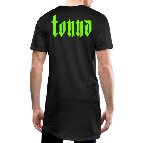 )).tonna.(( Classic Typography Logo - T-shirt long Homme