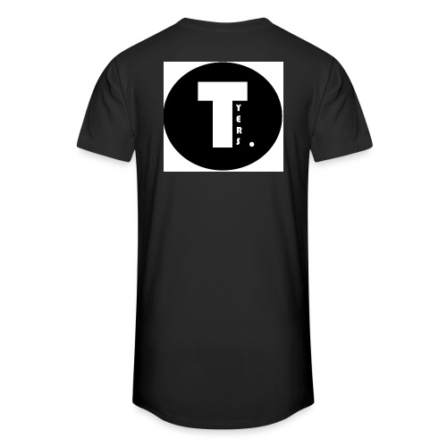 T by Tyers Logo au dos - T-shirt long Homme