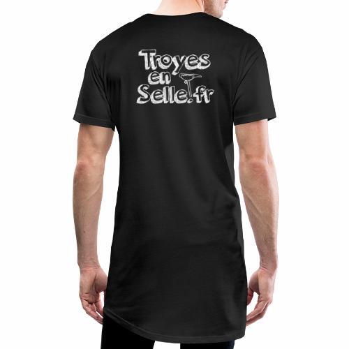 logo Troyes en Selle - T-shirt long Homme