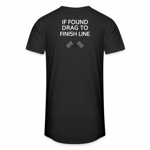 If found, drag to finish line - hardloopshirt - Mannen Urban longshirt