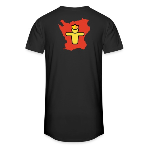 Turf Skåne symbol - Urban lång T-shirt herr