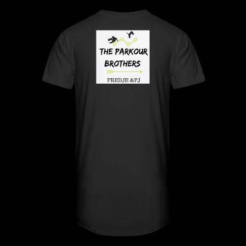 The parkours brothers T-shirt - Mannen Urban longshirt