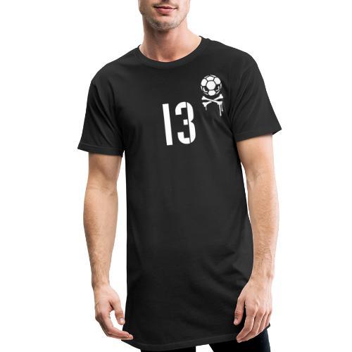 skull 13 1c inv - Männer Urban Longshirt