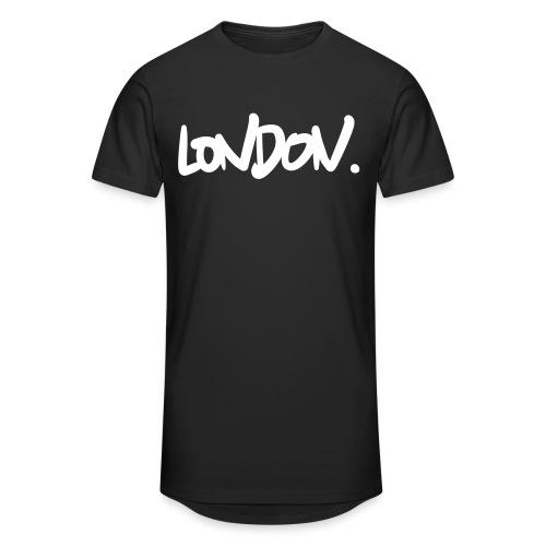 london - Men's Long Body Urban Tee