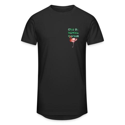 Pl_tshirt_typo flamand_40 - T-shirt long Homme