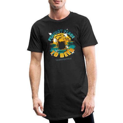 a perfect place to beer - Männer Urban Longshirt