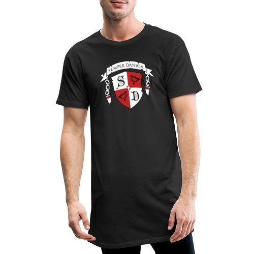 SD logo - hvide lænker - Herre Urban Longshirt
