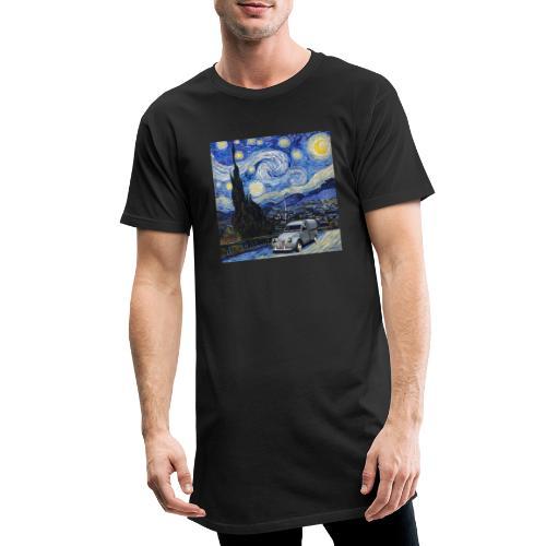 Notte stellata Van Gogh Citroen 2cv furgonette - Maglietta  Urban da uomo