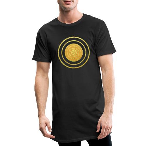 Glückssymbol Sonne - positive Schwingung - Spirale - Männer Urban Longshirt