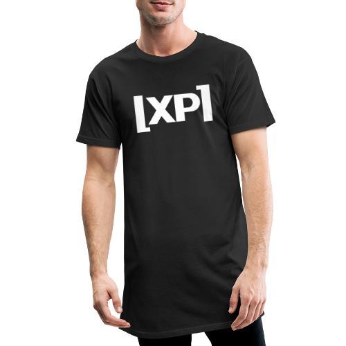 Klammelogo XP (hvid) - Herre Urban Longshirt