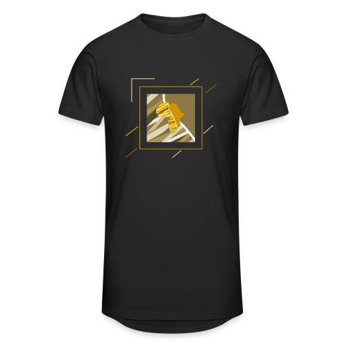 Buyela quad - Männer Urban Longshirt