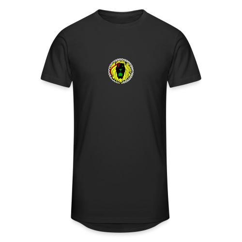 Take Pride T shirt - Black - Men's Long Body Urban Tee