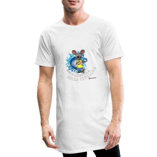 Bella Topolona testo Bianco - Maglietta  Urban da uomo