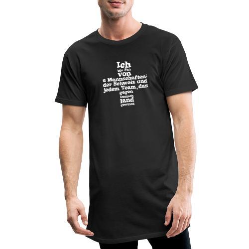 Fan von zwei Mannschaften - Männer Urban Longshirt