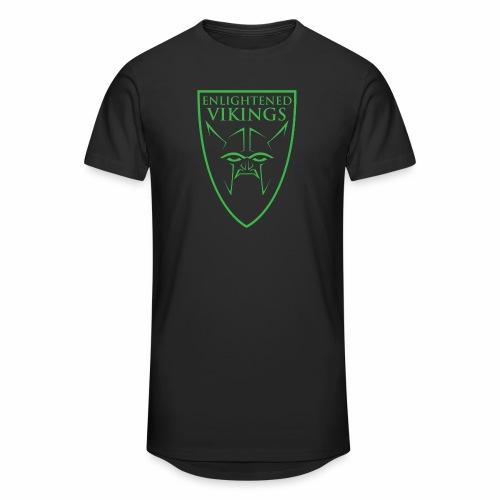 Enlightened Vikings (Org) - Urban lang T-skjorte for menn