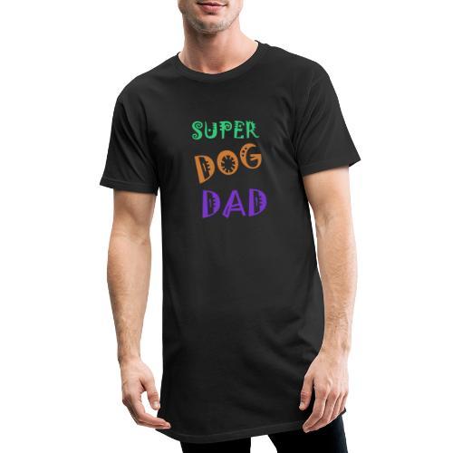 Super dog dad - Mannen Urban longshirt