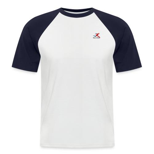 Run by Andrew Reid - Men's Baseball T-Shirt