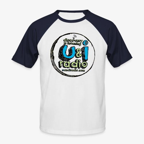 U & I Logo - Men's Baseball T-Shirt