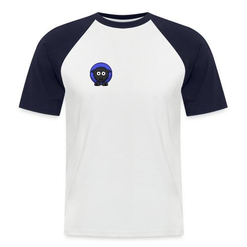 schaap - Mannen baseballshirt korte mouw