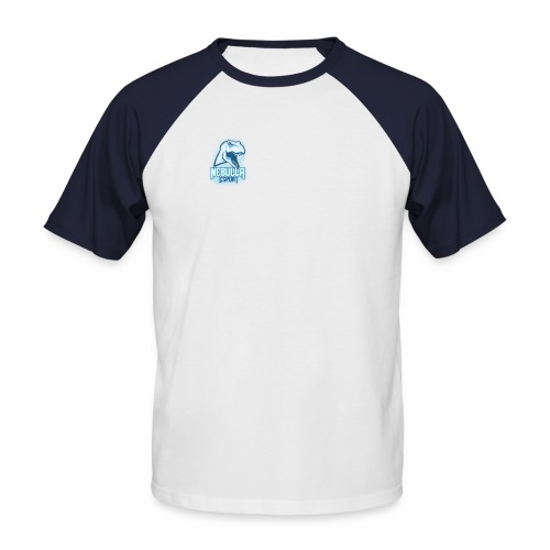 Nebulla - T-shirt baseball manches courtes Homme