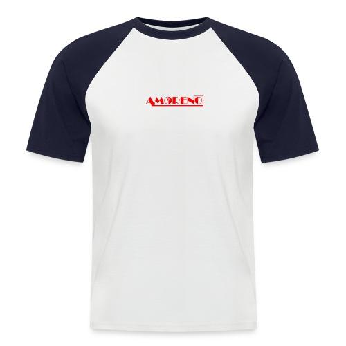 LOGO AMORENO ROUGE - T-shirt baseball manches courtes Homme