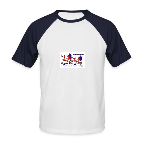 stefline5 - T-shirt baseball manches courtes Homme