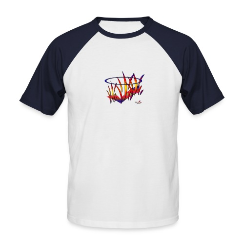 stefline4 - T-shirt baseball manches courtes Homme