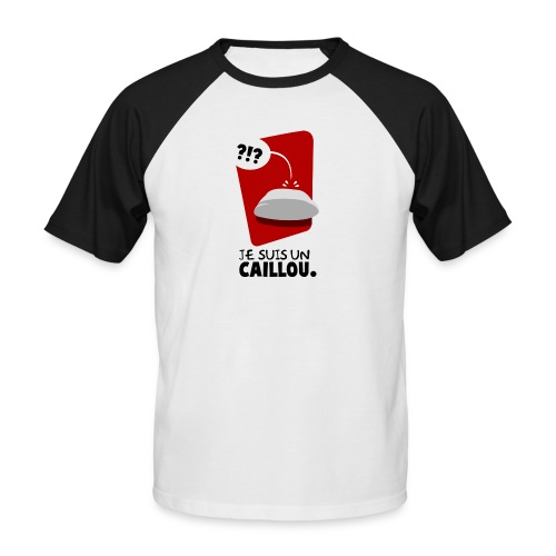 Caillou - T-shirt baseball manches courtes Homme