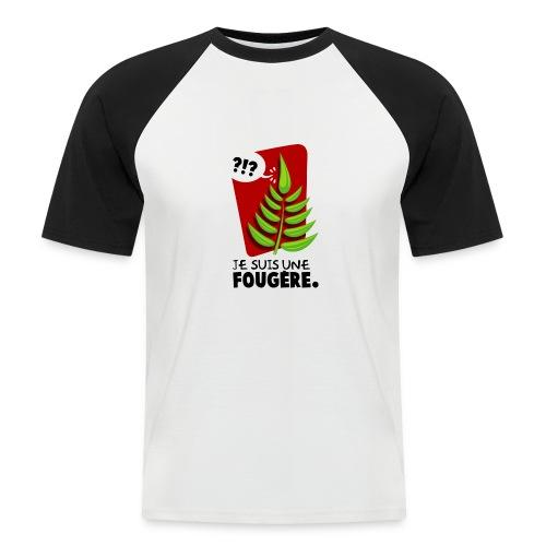 Fougère - T-shirt baseball manches courtes Homme