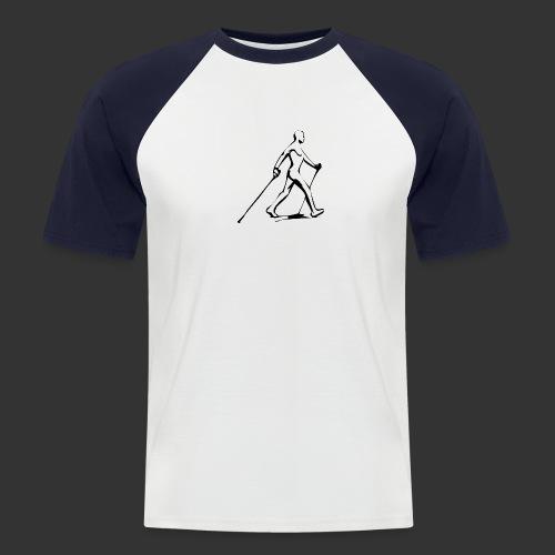 Nordic Walking - Männer Baseball-T-Shirt