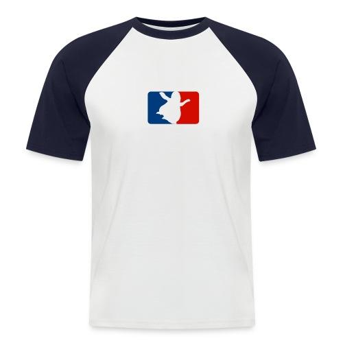 happy - Männer Baseball-T-Shirt