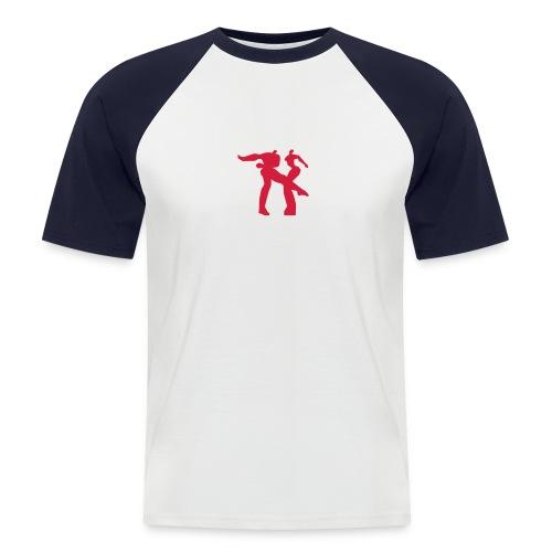 paar - Männer Baseball-T-Shirt