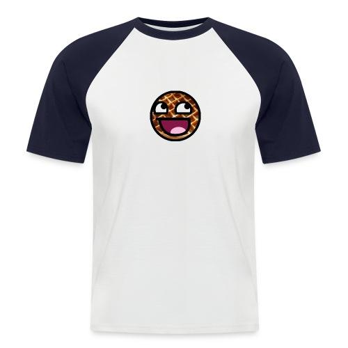 MrRoflWaffles Logo - Men's Baseball T-Shirt