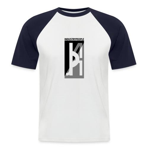 Industrypeople - Kortermet baseball skjorte for menn