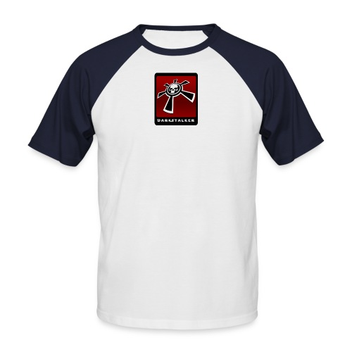 DS skate red - Männer Baseball-T-Shirt