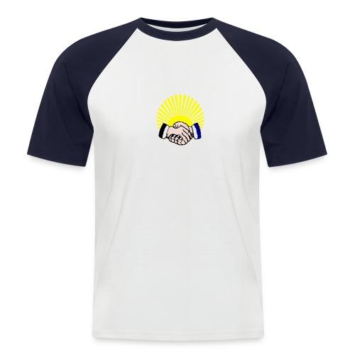 jgv logo1 - Männer Baseball-T-Shirt