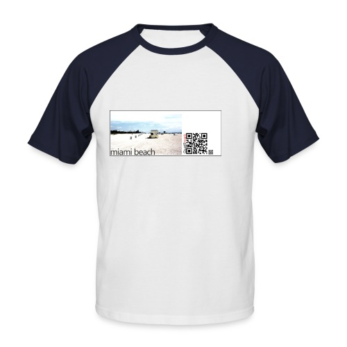 miamibeach - Men's Baseball T-Shirt