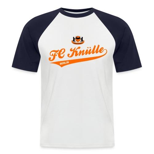 Schriftzug - Männer Baseball-T-Shirt